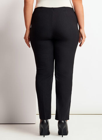 Pantalon coupe signature à jambe étroite, , hi-res