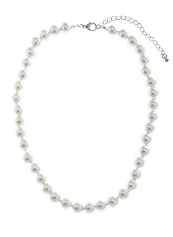 Classic Pearl Necklace, , hi-res