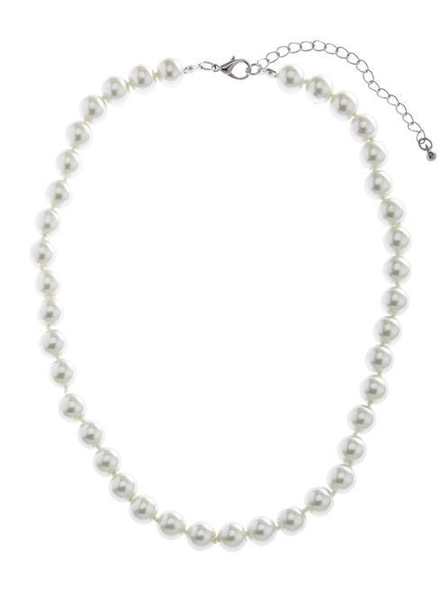Collier de perles, Blanc cassé, hi-res