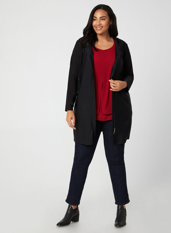Compli K - Front Zip Jacket, Black