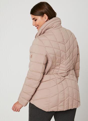 Bernardo - PrimaLoft® Packable Coat, Pink, hi-res