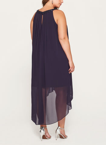 Beaded Cleo Neck Dress, , hi-res