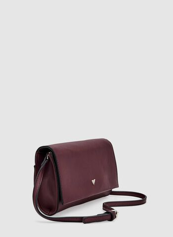 Flap Over Clutch, Red, hi-res
