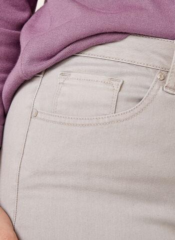 Modern Fit Slim Leg Jeans, Silver, hi-res