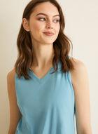 Claudel Lingerie - Pyjama sans manches, Bleu