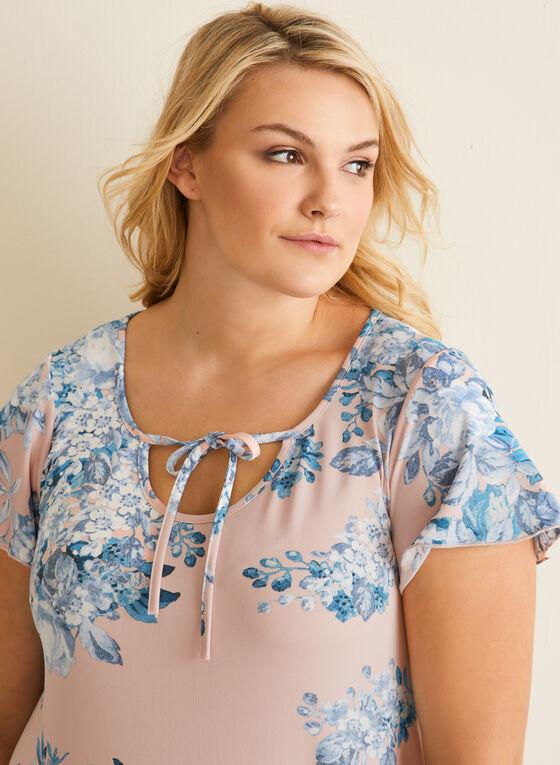 Hamilton - Chemise de nuit florale, Rose