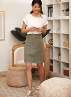 Charlie B - Pull-On Skirt, Grey