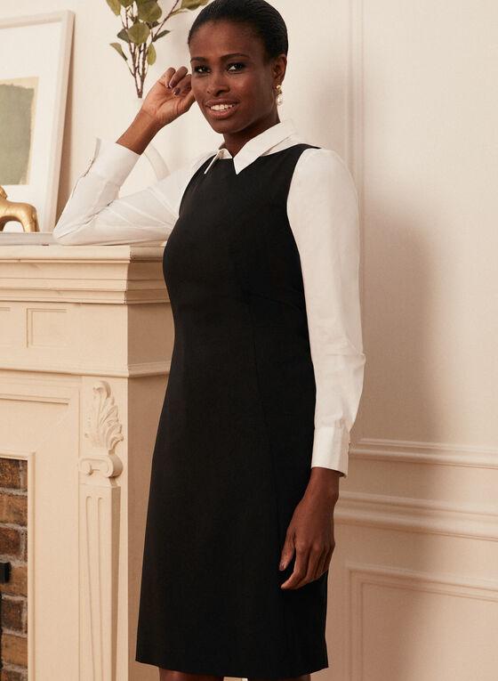 Louben - Robe droite sans manches , Noir