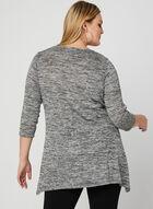 Tunique en tricot métallisé, Gris, hi-res