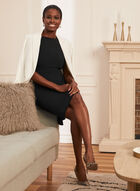 Louben - Sleeveless Day Dress, Black