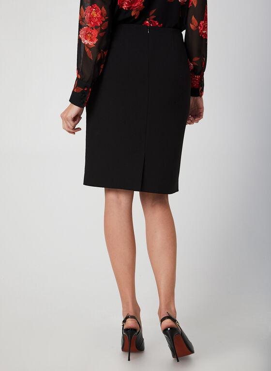Straight Skirt, Black