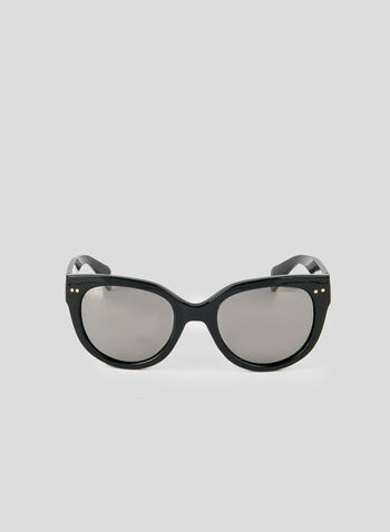 Tortoise Shell Sunglasses, Black, hi-res