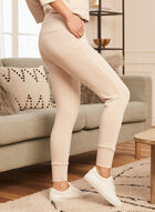 Pull-On Jogger Pants, Beige