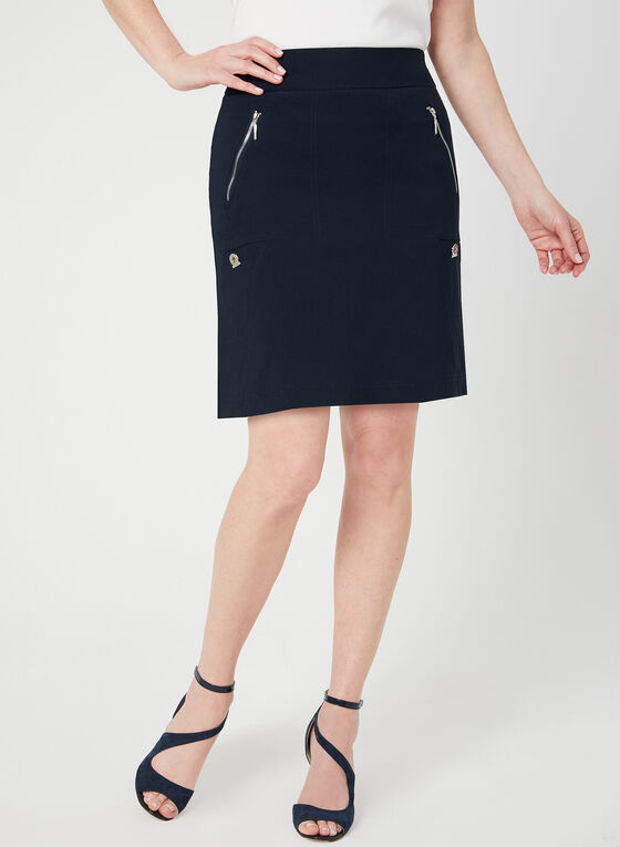 Simon Chang - Microtwill Skort, Blue