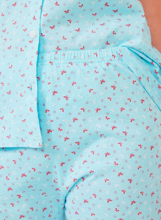 Hamilton - Cotton Button Down Pajamas, Blue, hi-res