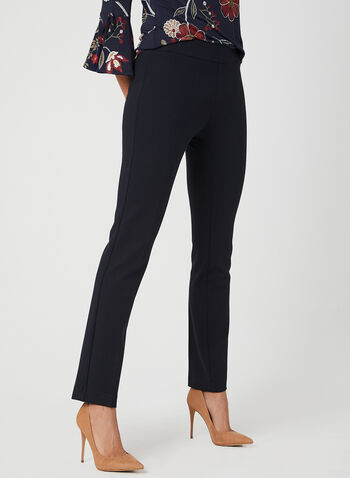 Ponte de Roma Slim Leg Pants, Blue, hi-res