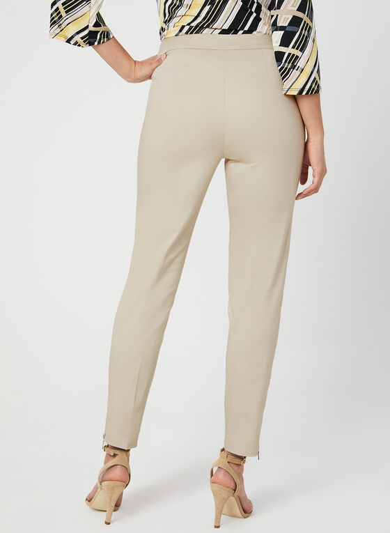 Modern Fit Slim Leg Pants, Off White, hi-res