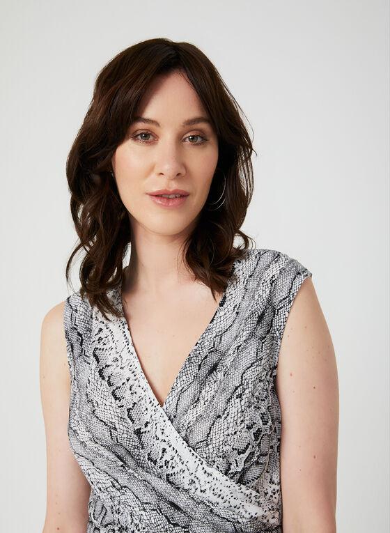 Emma & Michele - Snake Print Jumpsuit, Grey