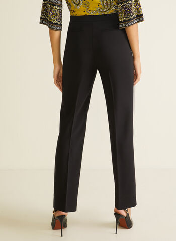 Signature Fit Wide Leg Pants, Black,  pants, signature, wide leg, pockets, pleats, bi-stretch, fall winter 2020