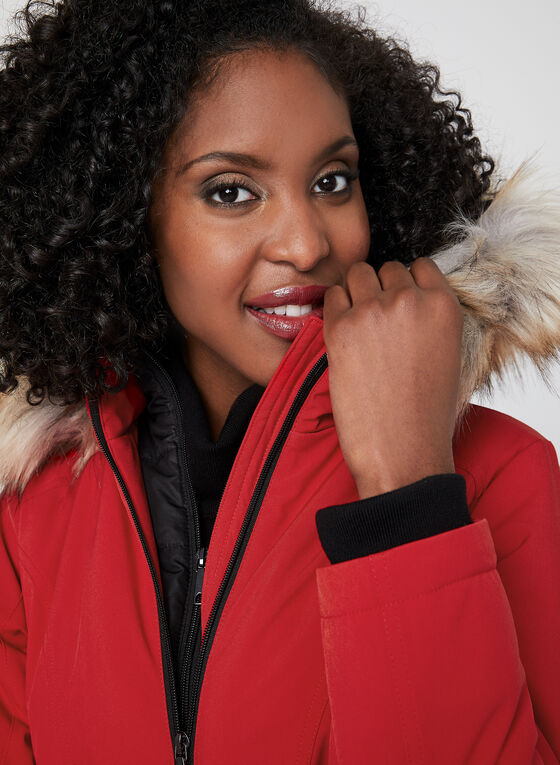 Chillax - Manteau compressible Artic-Loft® , Rouge