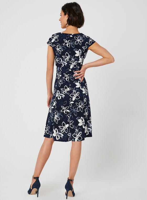 Popover Jersey Dress, Blue, hi-res