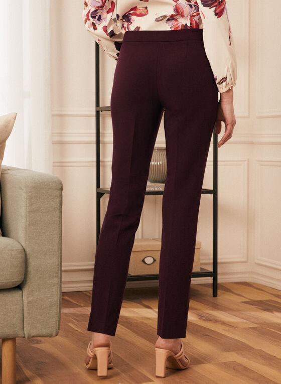 Pantalon à jambe droite, Violet