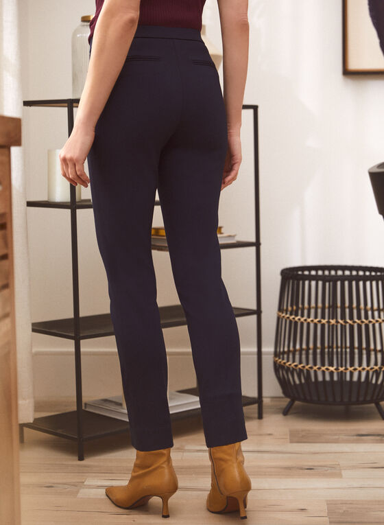 Signature Fit Straight Leg Pants, Blue