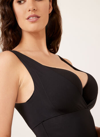 Secret Slimmers – Medium Control Body Shaper, Black, hi-res