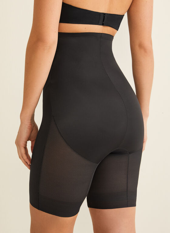 Naomi & Nicole - High-Waist Cooling Shapewear, Black