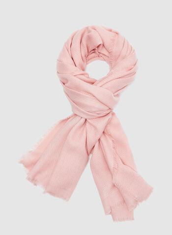 Super Soft Textured Wrap, Pink, hi-res