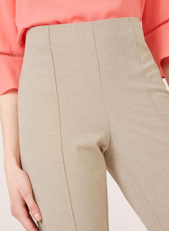 Pantalon coupe cité à jambe droite, Gris, hi-res