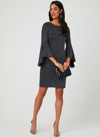 Bell Sleeve Sparkle Dress 16315f63f