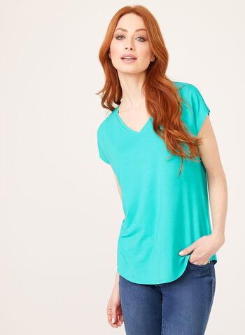 Short Sleeve T-Shirt , Blue, hi-res