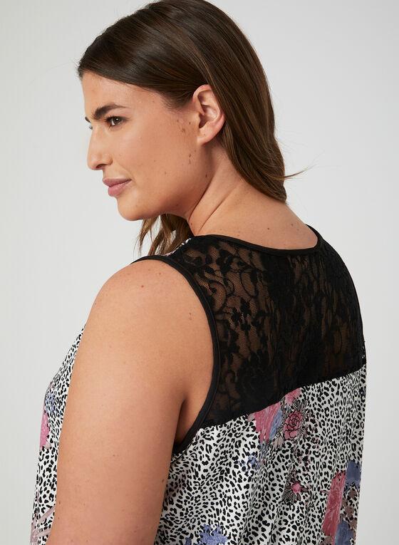 Hamilton - Leopard Print Nightgown, Multi, hi-res