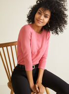 Pearl Embellished Sweater, Pink