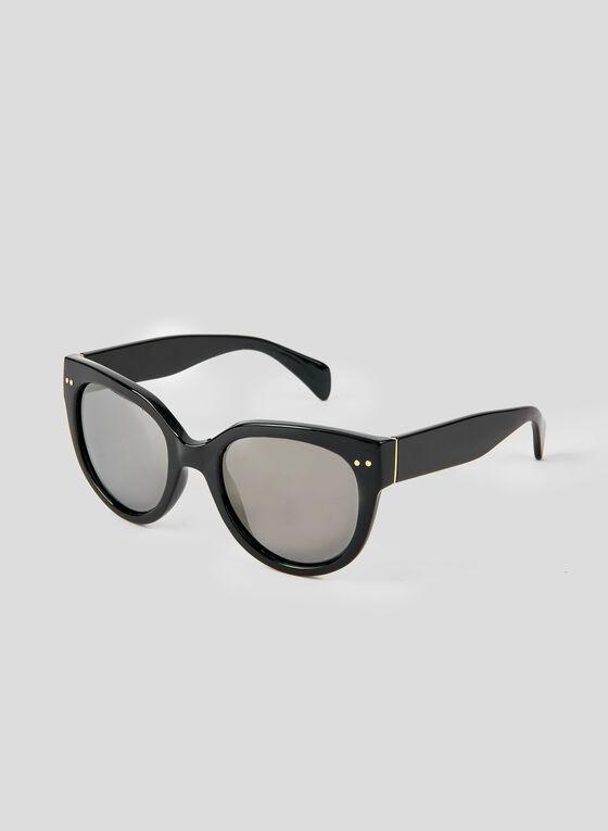 Tortoise Shell Sunglasses, Black, hi-res
