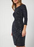 Glitter Sequin Dress, Blue