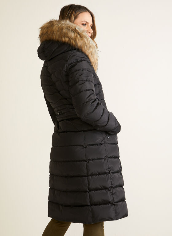 Laundry - Long Vegan Down Coat, Black