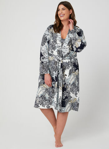 Hamilton - Nightshirt & Robe Set, Blue, hi-res