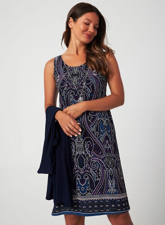Dress & Duster Set, Blue, hi-res