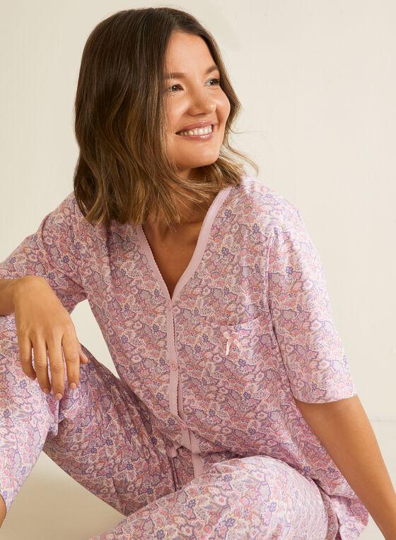 Ensemble pyjama 2 pièces , Violet