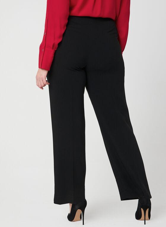 Louben - Pantalon coupe moderne, Noir
