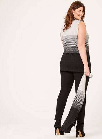 Sleeveless Lurex Top , , hi-res