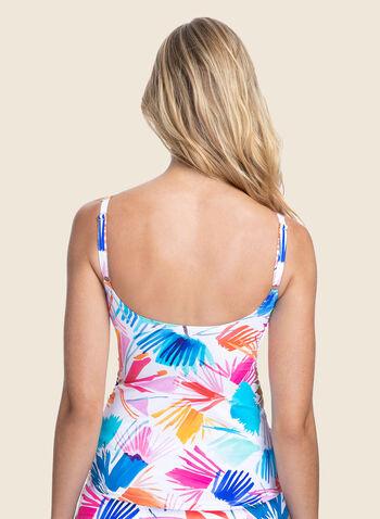Profile by Gottex - Tankini motif tropical avec culotte, Multi,  maillot de bain, 2 pièces, tankini, tropical, bretelles, bonnet d, culotte, printemps été 2020