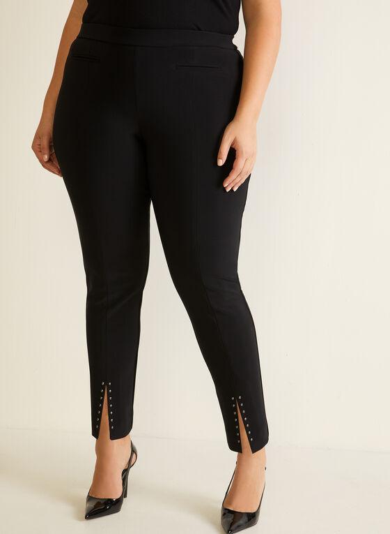 Joseph Ribkoff - Slim Leg Pull-On Pants, Black
