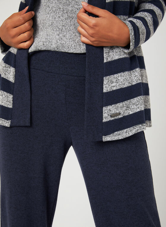 Pantalon de détente à jambe large , Bleu, hi-res