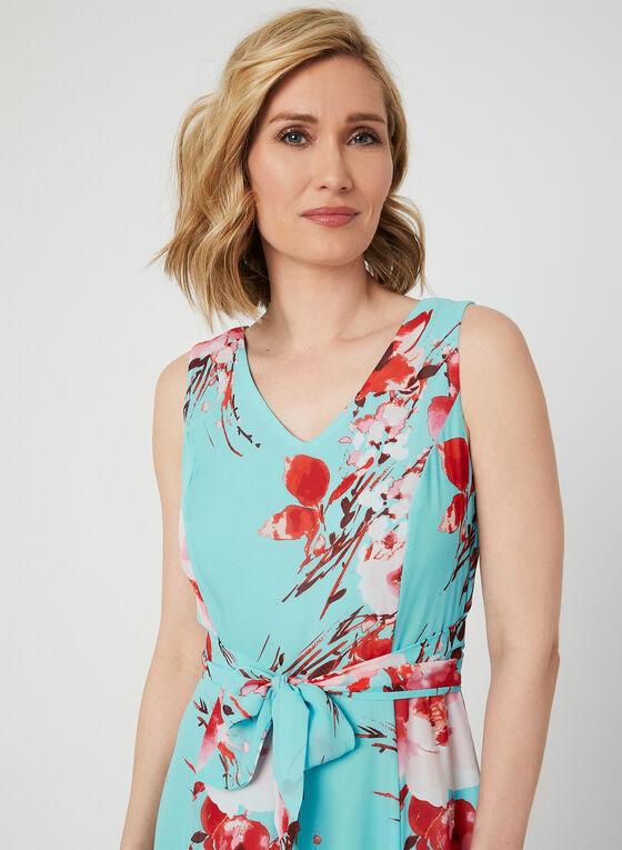 Emma & Michele – Carwash Hem Maxi Dress, Blue, hi-res