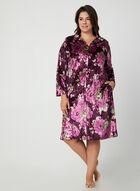 Hamilton - Velour Nightgown, Purple, hi-res