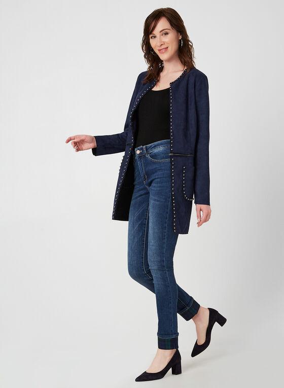 Charlie B - Jeans coupe moderne, Bleu