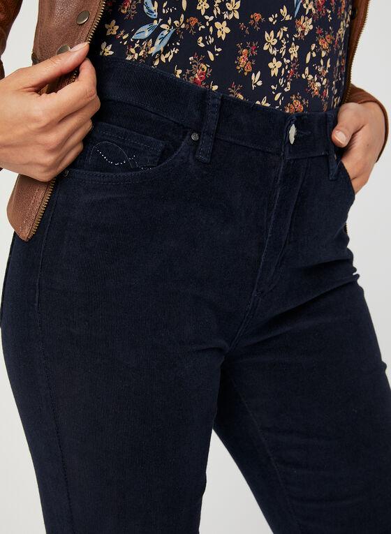 Simon Chang - Pantalon en velours côtelé, Bleu, hi-res